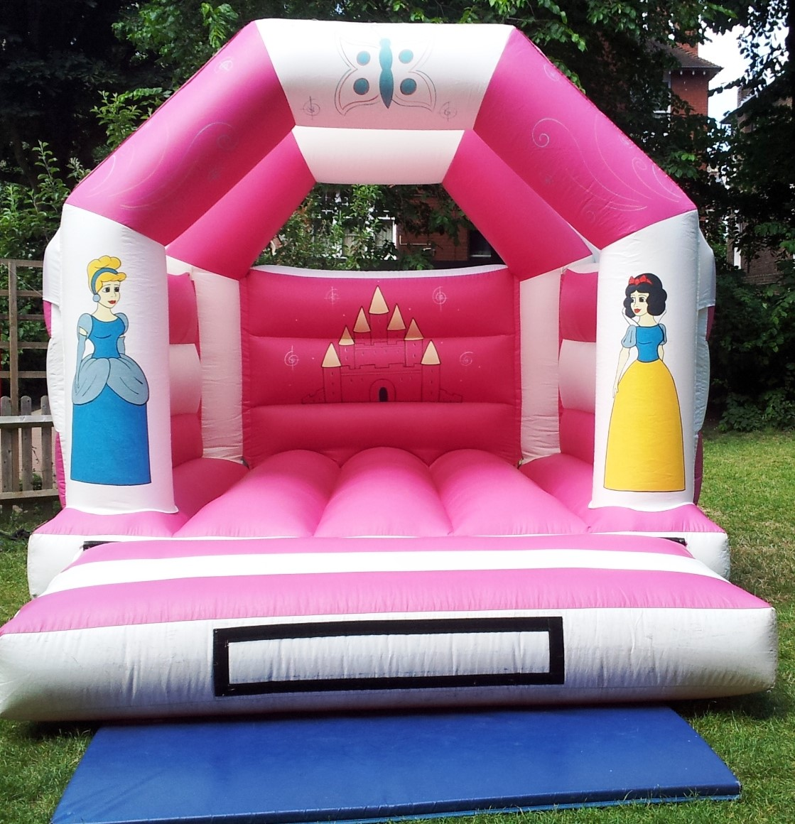 White Princess Bouncy Castle